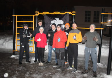 Открытая тренировка г.о.Королёв, КС, РКК «Энергия», «снеговиков»